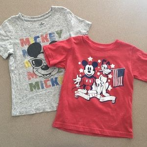 Disney Mickey Mouse Tee Bundle